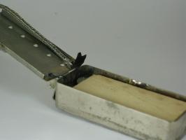 Firebird® ouvert plaque et cale en place